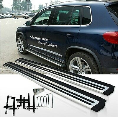 fit Volkswagen VW Tiguan 2010-2015 stainless steel side step bar running board