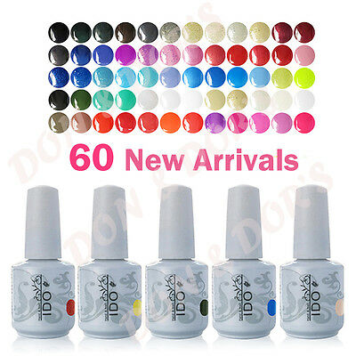 15ml Any 1 pcs I DO Uv Gelpolish Soakoff Gel Polish Soak Off Nail Led Top New