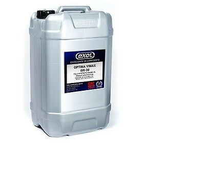 Exol Fully Synthetic Engine Oil 0W/30  20 Litre Honda, Bmw Longlife Oil