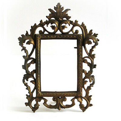Antique Victorian Acanthus Leaves Rococo Gilt Easel Barouqe Frame