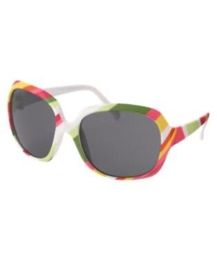 Gymboree Swim Shop Multi Color Stripe Sunglasses 0 2 Nwt