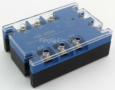 TSR-60DA three phase DC to AC 60A 480V solid state relay / SSR