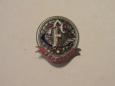 Insigne Badge Sport Automobile Tcf Touring Club De France Veterans