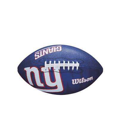 Wilson NFL New York Giants Team Logo Junior Football