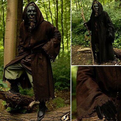 Robes Of Azog - Black Or Brown - Ideal For LARP Or Re-Enactment / Costume