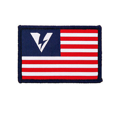 OAKLEY SI Standard Issue Tactical SI Logo USA Flag Red White Blue Morale Patch