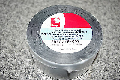 SCAPA 2515 EPR SELF AMALGAMATING TAPE 50mm x 10m *NEW WRAPPED ROLL* 21327 RR49