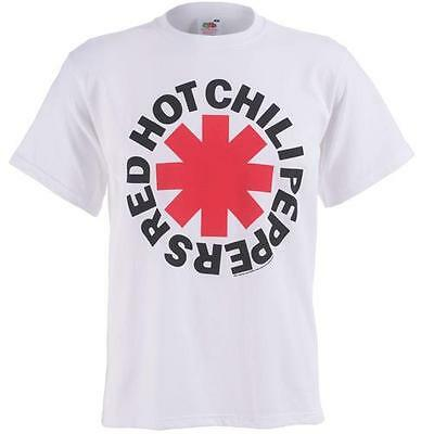 Red Hot Chili Peppers - Red Asterix Mens Short Sleeve T-Shirt - New & Official