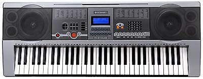 Piano Numerique E-Piano Clavier 61 Touches 100 Sons Et Rhythms Usb Mp3 Pupitre
