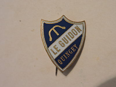 Insigne Badge Sport Cyclisme Le Guidon Quincey
