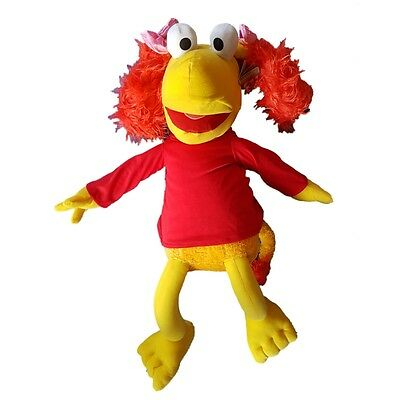 "Large Fraggle Rock Soft Toy 28"" 70cm Boober and Red Soft toy Set"
