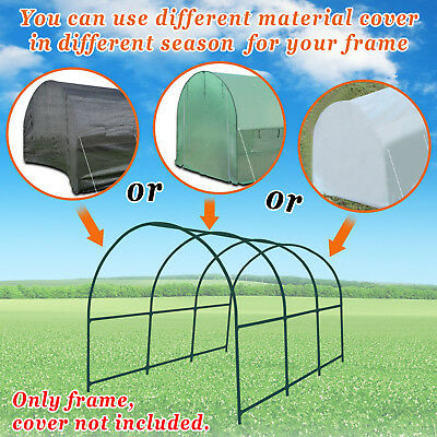 20x10x7'/12x7x7'/10x7x6' Strong Camel Greenhouse Replacement Steel FRAME ONLY