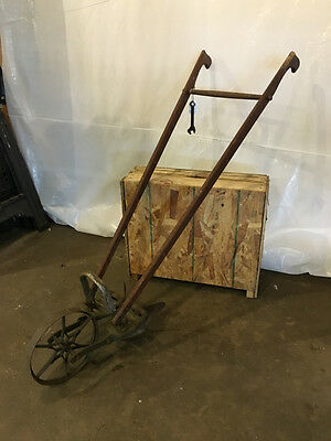 Planet Jr. Plow with Original Wrench Antique Vintage Rustic Garden