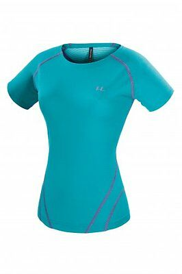 T-Shirt woman tecnica hiking Ferrino Orange Shirt color Atoll