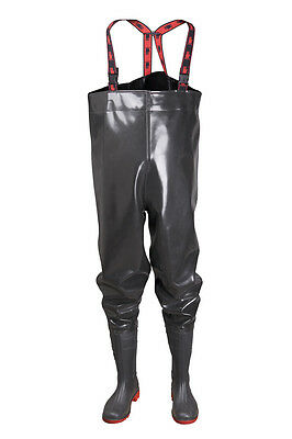 STRONG Anglerhose Wathose 40-47 EU  Rubber New Generation Teichhose als Latex