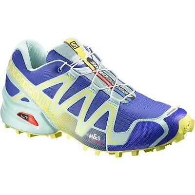 TRAIL RUNNING shoes Women's SALOMON SPEEDCROSS 3 W woman Wild Violet Gloo Blue