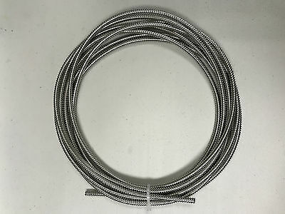 Stainless Steel flexible conduit, OD7mm, ID 5mm, Length: 20ft
