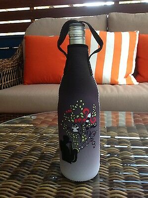 XMAS BLITZ - Now $8.00 - Wine Bottle Cooler with zipper-Musical Vineyard