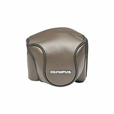Olympus CSCH-118 Leather Bag brown 1 Stylus for housing / camera  V600079NW000