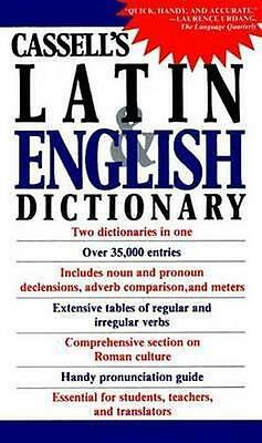 NEW Cassell's Latin and English Dictionary By SIMPSON Paperback Free Shipping