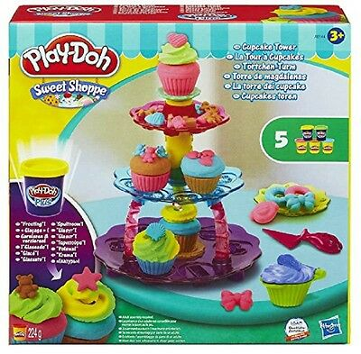 Play-Doh Sweet Shoppe Cupcake Tower Playset Children Activity Fun New