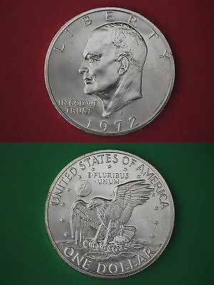 1972-S 40% Silver Uncirculated Eisenhower Dollar Ike Flat Rate Shipping
