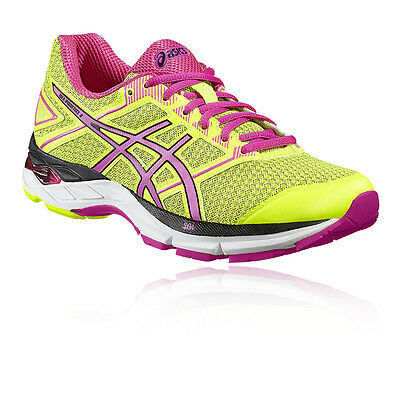 Asics Gel-Phoenix 8 Womens Yellow Support Running Sports Shoes Trainers