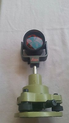Leica GPR1 prism with post and Tribrach