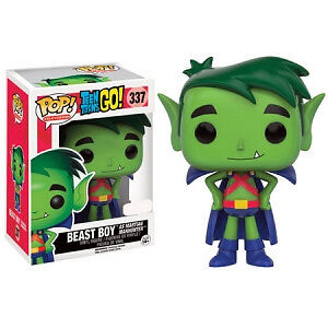 Teen Titans Go! - Beast Boy as Martian Manhunter US Exclusive Pop! Vinyl Figure