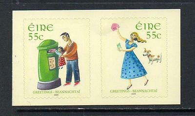 Ireland Mnh 2009 Sg1934-35 Greetings Stamps Set Of 2
