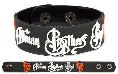THE ALLMAN BROTHERS BAND Rubber Bracelet Wristband Brothers and Sisters