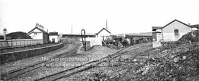 Photo Of Letterkenny & Burtonport Railway Creeslough Station About 1900