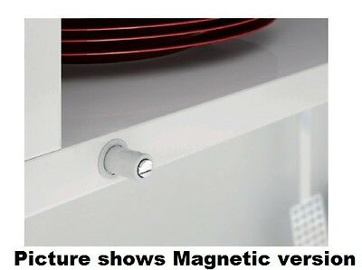 Magnetic Catches Push To Open + Buffer Version 2 Sizes Concealed Cabinet Fit