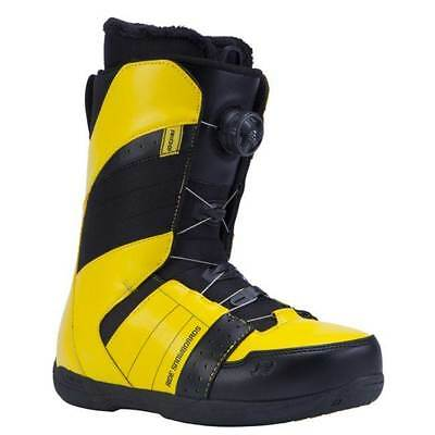 RIDE 'Anthem' Snowboard Boots - Yellow - Size Men's US 9 - NEW - ede