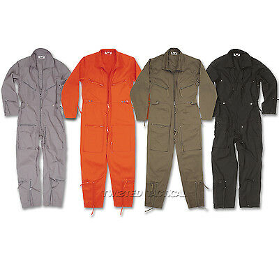 Pilots Flight Suit Aviators Coverall Flying Overralls Military Boilersuit - New