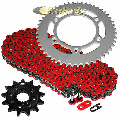 Red O-Ring Drive Chain & Sprocket Kit Fits HONDA CRF250R 2010 / CRF450R 04-16