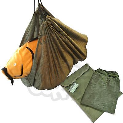 NGT Soft Mesh Carp Coarse Fishing Weigh Weighing Sling With Draw String & Case