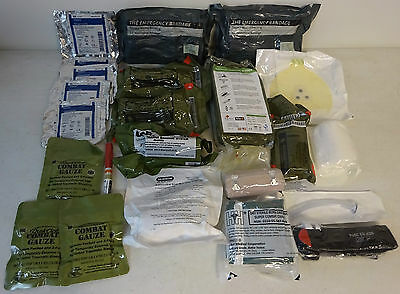 US Military Lots Of Assorted Medical Supplies New In Packaging