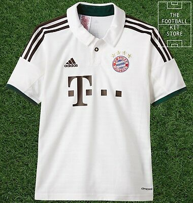Bayern Munich Away Shirt - Official Adidas Football German Shirt  - Boys