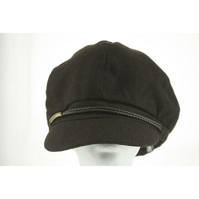 Nine West Women's Hat Newsboy / Cabbie One Size Brown New Polyester Limited LAFO