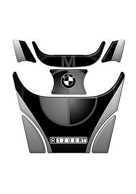 Motorcycle Tank Pad Protector Sticker | (BMW) R1200RT BLACK
