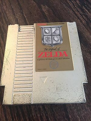 The Legend Of Zelda Nintendo NES Gold Cart Works NE2