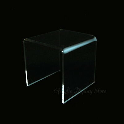"""Acrylic Clear Square Riser Display Stand 3 x 3 x 3"""""""