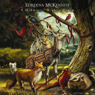 LOREENA McKENNITT - A MIDWINTER NIGHT'S DREAM Limited Numbered 180g LP | VINYL