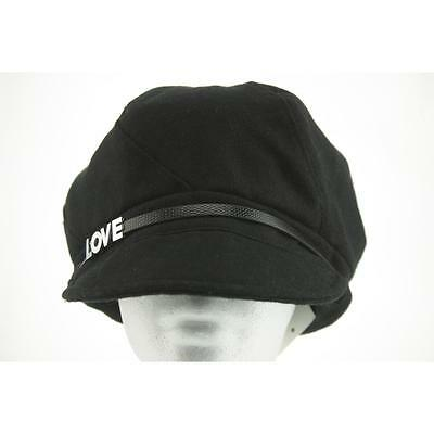 August Hat Women's Hat Newsboy / Cabbie OS Black New Polyester Limited LAFO
