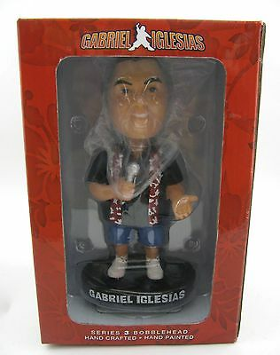 New Gabriel Iglesias FLUFFY Bobblehead Comedian Figure Series 3 Hand Painted