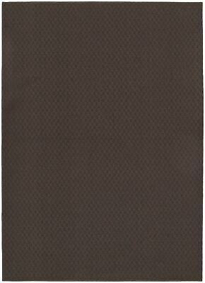 New Garland Rug Town Square Area Rug, 7-Feet 6-Inch by 9-Feet 6-Inch, Chocolate