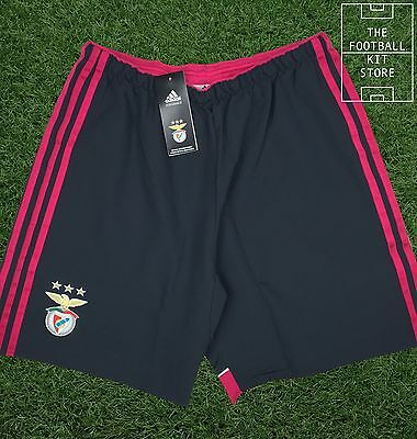 Benfica Away Shorts - Official Adidas SL Benfica Shorts - Mens All Sizes