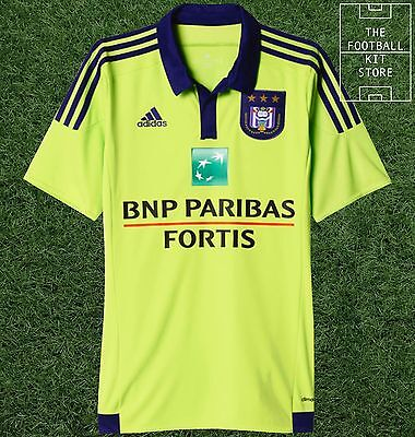 Anderlecht Away Shirt - Official Adidas Belgian Shirt - Mens
