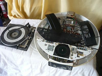 Weltron Gmc Space Radio Record Player Parts Vintage Retro Era